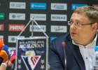 """""""Slovan"""" nav finansējuma, KHL gatavo divus sezonas kalendārus"""