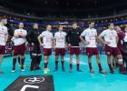 Latvijas florbolisti dramatiskā cīņā zaudē Vācijai