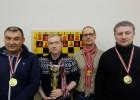 """Pēc gada pārtraukuma Latvijas komandu čempionātā šahā uzvar """"Termo-Eko/RŠF"""""""