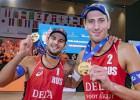 Krievijas pludmales volejbolisti Stojanovskis un Krasiļņikovs triumfē četru zvaigžņu turnīrā Hāgā