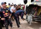 Lēba stūrmanis neapmierināts ar Dakaras rallija kvalitāti