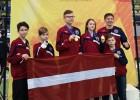 Latvijas taekvondo klubs Vācijā izcīna trīs zelta medaļas