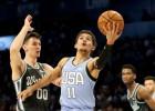 Kurucs NBA jauno zvaigžņu spēlē iemet desmit punktus, uzvaru izcīna ASV komanda