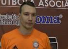 """Video: Kaspars Žurovs: """"Nav svarīgi, pret ko spēlēt izslēgšanas spēlēs"""""""