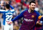 Mesi Spānijas līgas dominance turpinās ar diviem vārtiem derbijā