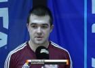 """Video: Maksims Seņs: """"Bija ļoti grūta spēle, sākām spēlēt no aizsardzības"""""""