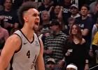 Video: NBA nedēļas topā uzvar Bertāna komandas biedrs