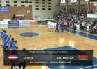 Video: Pēdējā pārbaudes spēlē Latvija piekāpjas Baltkrievijai