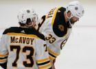 """""""Bruins"""" aizsargs: """"Hāra knapi varēja parunāt, bet tāpat atgriezās pie komandas"""""""