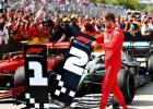 Fetels pēc finiša pie uzvarētāja Hamiltona formulas pieliek otrās vietas numuru
