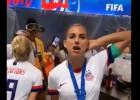 Video: ASV futbolistes ģērbtuvē nosvin Pasaules kausa iegūšanu
