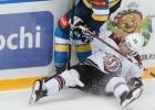 """Video: Rīgas """"Dinamo"""" atspēlējas no 1:4 un pieveic SKA"""