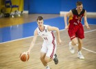 Latvijas U16 izlase pieveic Vāciju un nosargā vietu A divīzijā