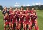 Latvijas U18 futbolisti sīvā cīņā atzīst čehu vienaudžu pārākumu