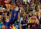 """""""Barcelona"""" atkal nonāk zaudētājos, Grīzmans ievada pretinieku sagraušanu"""
