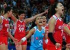 Eiropas čempionāta dāmām zeltu dalīs mājiniece Turcija un pašreizējā čempione Serbija