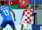 Horvātijai ar Modriča pendeli uzvarai nepietiek, Azerbaidžānai pirmais punkts