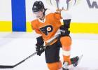 """""""Flyers"""" uzbrucējam Patrikam migrēnu dēļ jāizlaiž sezonas sākums"""