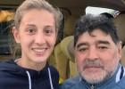 Video: Dāma gūst Maradonas cienīgus vārtus un nopelna kopīgu foto ar leģendu