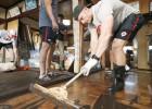 Kanādas regbisti pēc atceltās spēles dodas palīgā tikt galā ar taifūna radītajām sekām
