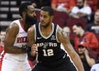 """Hārdens """"Rockets"""" zaudējumā iemet 40 punktus, Džeimsam 18+11+4 pret """"Warriors"""""""