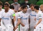 """""""Zenit"""" četras kārtas pirms beigām izcīna Krievijas čempiones titulu"""