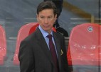 """Krievija aizvadījusi pirmo treniņu """"Canada Hockey Place"""" arēnā"""