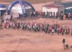 """Video: Pirmais """"Stipro skrējiens"""" finišējis"""