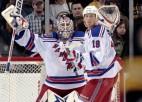 Lundkvists sausā, ''Rangers'' uzveic ''Bruins''