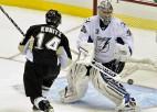 """""""Lightning"""" izslēdz Pitsburgu, """"Bruins"""" atkalredzēšanās ar """"Flyers"""""""