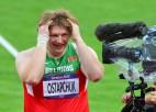 """Ostapčuka: """"Vēl 30.jūlijā ņemtajās dopinga analīzēs neko neatrada..."""""""