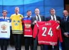 IIHF Slavas zālē uzņemts Salejs, Lidstrēms un Aizermans