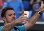 """""""Australian Open"""" ceturtdaļfinālu ievadā Vavrinka pret Tsongu"""