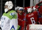 Norvēģija bez grūtībām uzvar Slovēniju un pakāpjas uz otro vietu
