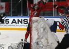 Kuriozi vārti nodrošina Kanādai ceturto uzvaru turnīrā