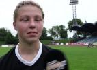 """Video: Miksone: """"Treneris teica, lai ejam asi virsū un viņas netiek pie spēles"""""""