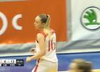 """Video: """"Liepājas Papīrs"""" basketbolistes ar zaudējumu uzsāk EEWBL sezonu"""
