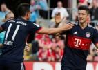 """""""Bayern"""" atspēlējas; cīņa par Čempionu līgu joprojām atklāta"""