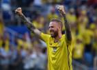 Trim zviedru futbolistiem pirms spēles pret Vāciju problēmas ar vēderu