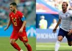 Grupu turnīra noslēgumā Beļģija pret Angliju un H grupas sīvās cīņas