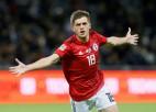 """Gruzijas 19 gadus vecais talants: """"Esmu pārliecināts, ka uzveiksim Latviju"""""""