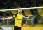 """""""Borussia"""" ar trīs vārtiem septiņās minūtēs sagrauj Hannoveri"""