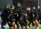 Jedvajs izrauj Horvātijai uzvaru pret Spāniju, Gruzija zaudē punktus Andorā