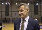 Video: Pēcspēles intervija ar RSU komandas treneri Aivaru Vīnbergu.