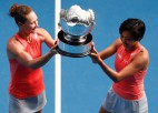 """Stousura pēc 13 gadu pārtraukuma uzvar """"Grand Slam"""" dubultspēļu turnīrā"""