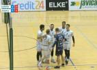 """Video: """"Jēkabpils lūši"""" izbraukumā piekāpjas """"Saaremaa VK"""""""