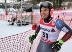 Gedram 35. vieta pasaules junioru čempionāta milzu slalomā
