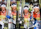 Zviedrijas distanču slēpotājas uzvar pasaules čempionāta stafetē