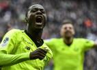 Lille soļo pretī Čempionu līgai, Balotelli atkal elegantas svinības, Liona minūtes laikā izlaiž 2:0
