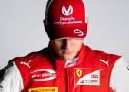 """Šūmahers: """"Esmu pilnībā gatavs startēt F1 čempionātā"""""""
